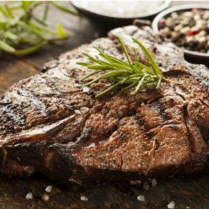 Grass Fed T Bone Steak White Angus Ranch