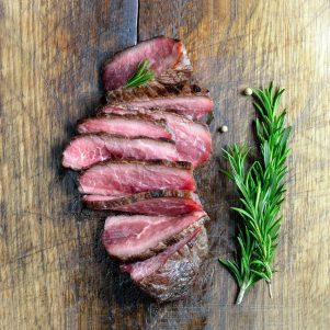 White Angus Ranch Grass Fed Flank Steak