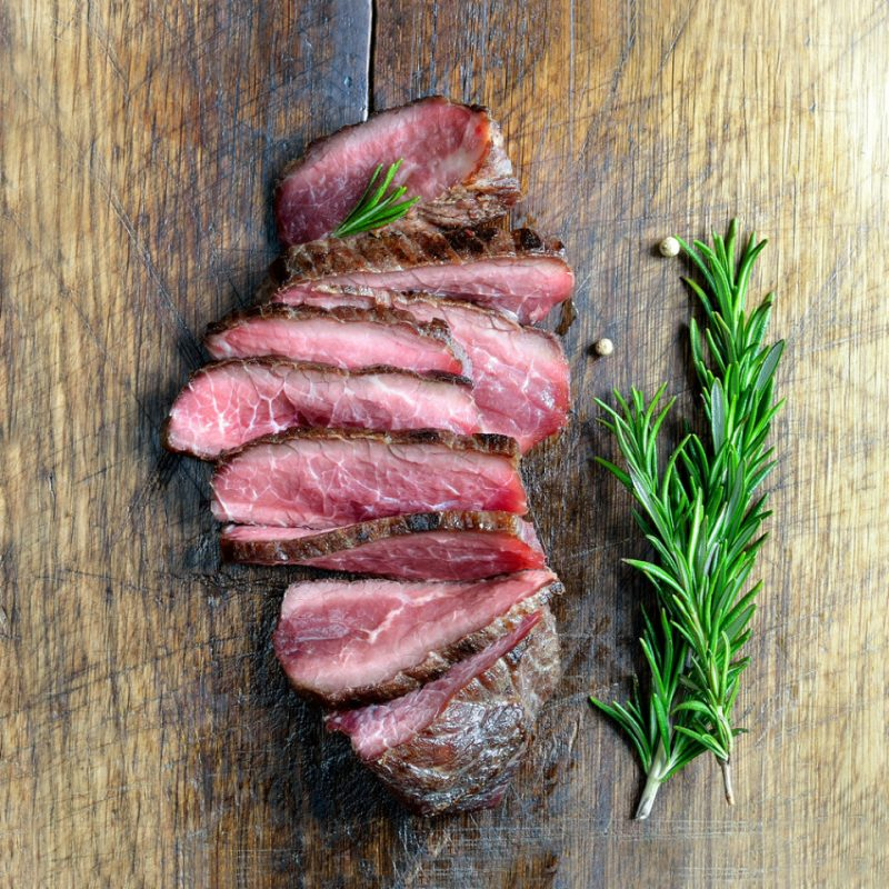 White Angus Ranch Grass Fed Flank Steak
