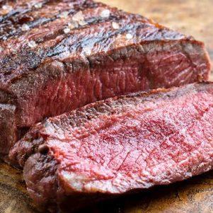 Grass Fed Sirloin Steak White Angus Ranch
