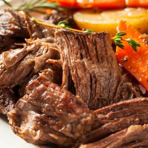 Grass Fed Beef Sirloin Tip Roast White Angus Ranch