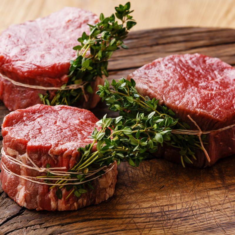 filet beef steak