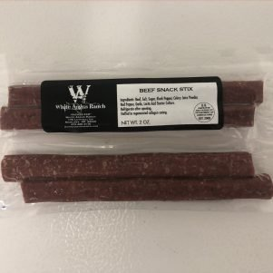 Grass Fed Beef Snack Stix White Angus Ranch