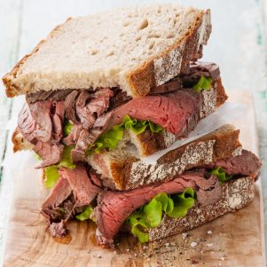 Grass-Fed Roast Beef White Angus Ranch