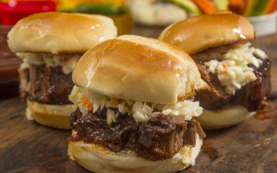 Beef Brisket Sliders